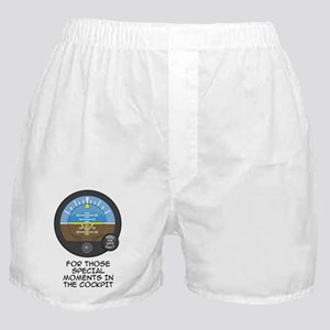 AI Black Text Boxer Shorts