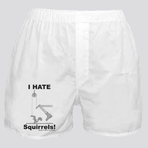 Boot the Squirrel Boxer Shorts