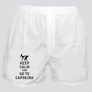 Keep Calm and Go To Capoeira Boxer Shorts