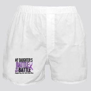 My Battle Too Hodgkin's Lymphoma Boxer Shorts