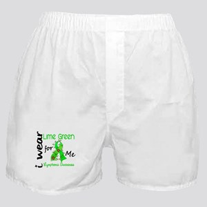 I Wear Lime 43 Lymphoma Boxer Shorts