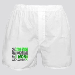 Survivor 4 Lymphoma Shirts and Gifts Boxer Shorts