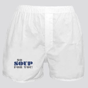 Seinfeld: No Soup For You Boxer Shorts
