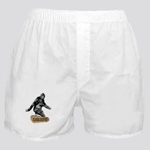 Bigfoot-I Believe Boxer Shorts