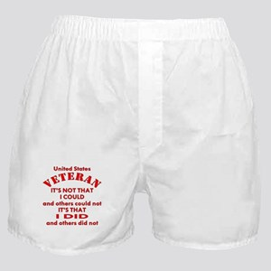 US Vet I Did Because Boxer Shorts