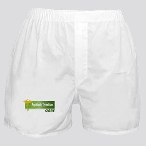 Psychiatric Technicians Care Boxer Shorts