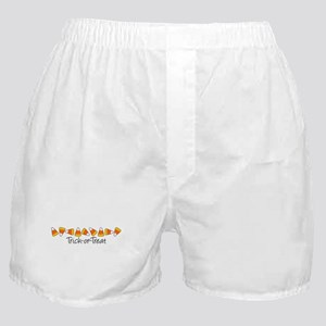 Trick-Or-Treat (Candy Corn) Boxer Shorts