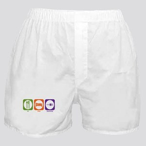 Eat Sleep Electricity Boxer Shorts