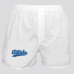 Retro Aikido Boxer Shorts