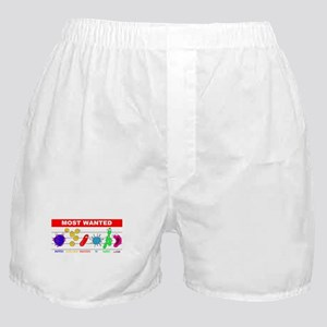 Most Wanted Poster Boxer Shorts