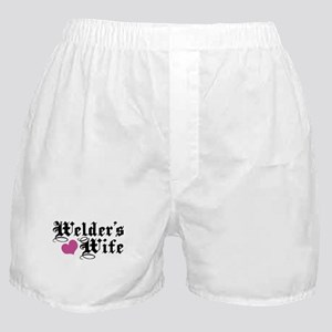 Welder's Wife Boxer Shorts