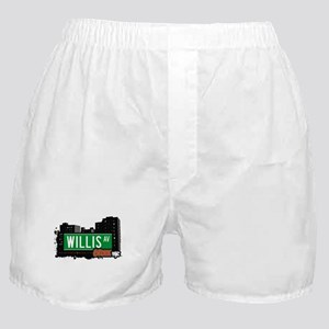 Willis Av, Bronx, NYC Boxer Shorts