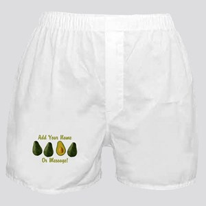 PERSONALIZED Avocados Graphic Boxer Shorts