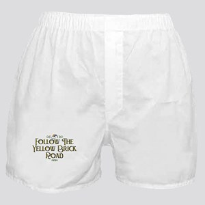 Follow the Yellow Brick Road Boxer Shorts