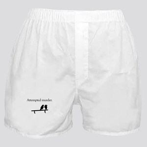 Attempted Murder Boxer Shorts
