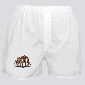 Sasquatch Family Boxer Shorts