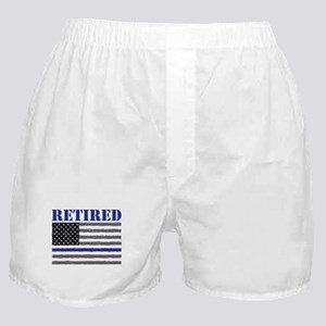 Thin Blue Line Retired Boxer Shorts