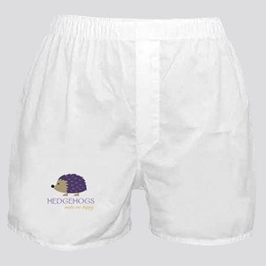 Happy Hedgehogs Boxer Shorts