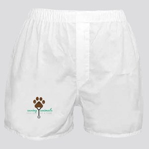 Saving Animals Boxer Shorts