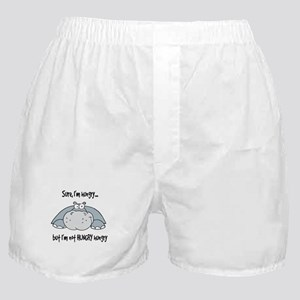 Hippo Hungry Boxer Shorts