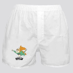 Flying Crypto-Man Boxer Shorts