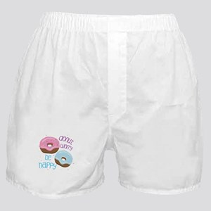 Donut Worry Boxer Shorts