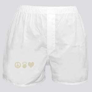 Peace Weight Love Boxer Shorts