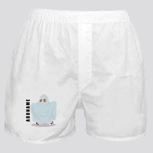 Halloween Ghost Custom Name Boxer Shorts