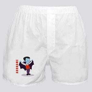 Halloween Vampire Personalized Boxer Shorts