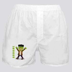 Halloween Green Goblin Personalized Boxer Shorts