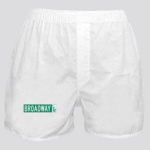 Broadway (with Statue of Liberty), NY Boxer Shorts