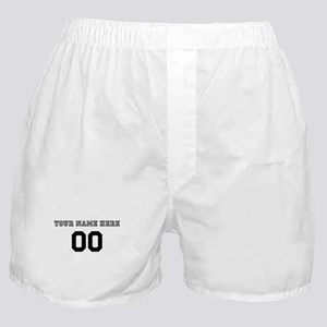 Personalized Baseball Boxer Shorts