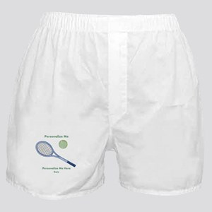 Personalized Tennis Boxer Shorts