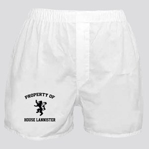 Property of House Lannister Boxer Shorts