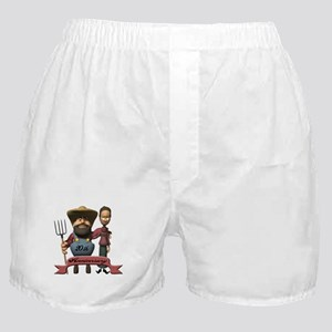 20th Wedding Anniversary Boxer Shorts