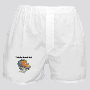 How I Roll (Garbage Truck) Boxer Shorts