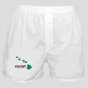 Hawaii Islands Boxer Shorts
