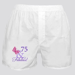 75 And Fabulous Boxer Shorts