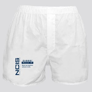 NCIS Gibbs' Rule #9 Boxer Shorts