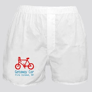 Fire Island Getaway Car Boxer Shorts