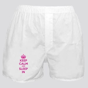 Keep calm and sleep in Boxer Shorts