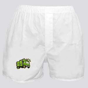 Garbage Rubbish Truck Cartoon Boxer Shorts
