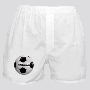 Customizable Soccer Ball Boxer Shorts