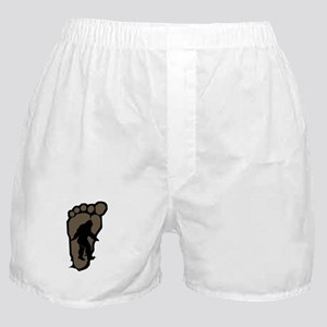 Bigfoot print b2 Boxer Shorts