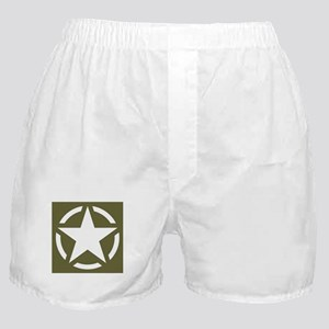WW2 American star Boxer Shorts