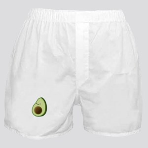 Cute Avocado Drawing Boxer Shorts