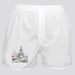 Winter in Paris Boxer Shorts