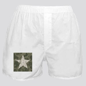 Military Star Boxer Shorts