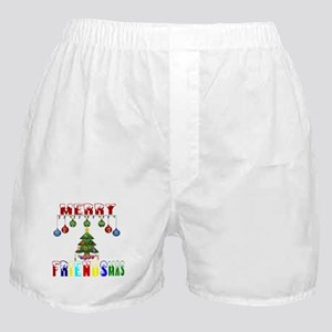 Merry FRIENDSmas Boxer Shorts