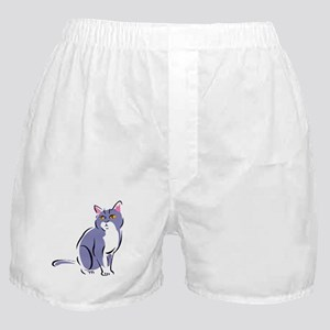 Elegant Cat Boxer Shorts